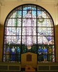 Image for Veterans Memorial Window - Veterans Memorial Building - Cedar Rapids, Iowa.