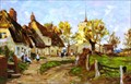"Image for ""Village St, Wendens Ambo, Essex"" by James Aumonier – Church St, Wendens Ambo, Essex, UK"