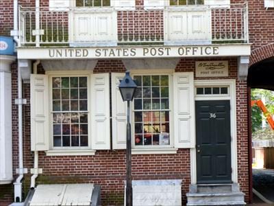 B. Free Franklin Post Office And Museum   Philadelphia, PA   Benjamin  Franklin On Waymarking.com