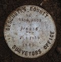 Image for T15S R10E S35 [T16S R10E S2] SC 1/4 COR - Deschutes County, OR