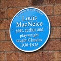 Image for Louis MacNeice - University of Birmingham - Edgbaston, Birmingham, U.K.