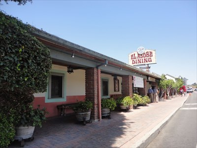 President Nixon Dines at El Adobe Mexican Restaurant - San