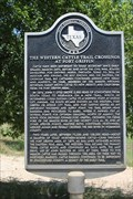 Image for The Western Cattle Trail Crossings at Fort Griffin