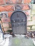 Image for 1 mile G.P.O marker, Pierremont Crescent, Darlington, England.