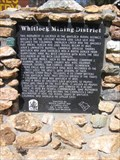 Image for Whitlock Mining District - ECV Marker - Midpines, California