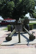 Image for WWII-era Army Field Gun  -- Eldorado TX