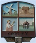 Image for Village Sign, Great Offley, Herts, UK