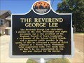 Image for The Reverend George Lee - Mississippi Freedom Trail - Belzoni, MS