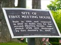 Image for FIRST-Meeting house