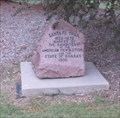 Image for Santa Fe Trail - D.A.R. Marker - Harmony School - Garden City, Kansas