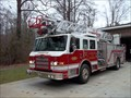 Image for Ladder Truck, Furman K. Biggs Fire Station. Lumberton, NC, USA