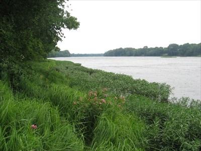 Upstream view towards Wilmington