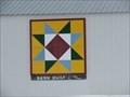 Image for Burnett County Barn Quilt – Grantsburg, WI