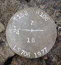 Image for T15S R10E S7 18 1/4 COR -- Deschutes County, OR