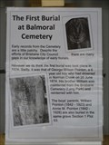 Image for The First Burial at Balmoral Cementary - Morningside - QLD - Australia