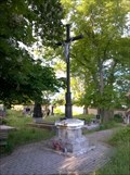 Image for Central Cross on Skury Cemetery, Czechia