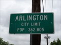 Image for Arlington, TX - Population 362,805