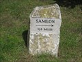 Image for Sherington-Sameon Milestone - High Street, Sherington, Buckinghamshire, UK
