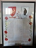 Image for Second World War Parchment Honour Roll - St. Paul's Church - Ramsey, Isle of Man