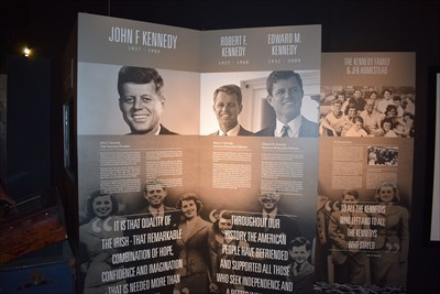 Irish America Hall of Fame - New Ross
