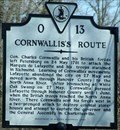 Image for Cornwallis's Route