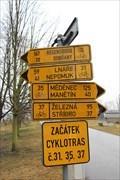 Image for Cycling Distance Arrows - Plzen, Plzenský kraj, Czechia