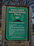 Image for Duck Creek Recreational Trail.