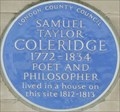 Image for Samuel Taylor Coleridge - Berners Street, London, UK