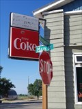 Image for Enjoy Coke sign at Happy Chopsticks - Melita, Manitoba