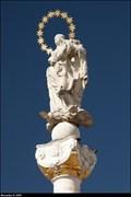 Image for Immaculata on Marian Column / Immaculata na mariánském sloupu - Znojmo (South Moravia)