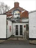 Image for Arthur Wharton Mural - Darlington, England.