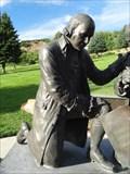 Image for Adams Crater - John Adams Statue - Bountiful, Utah