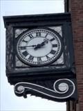 Image for Lloyds Bank Clock - Hanley, Stoke-on-Trent, Staffordshire, UK.