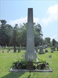 Image for Grave of President Martin Van Buren Obelisk - Kinderhook, NY