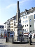 Image for Fontainen-Obelisk - Markt - Bonn, NRW, Germany