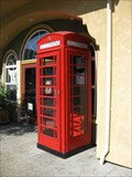Image for Windsor Rd Red Phone Box - Windsor, CA