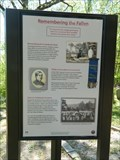 Image for Confederate Cemetery Triple Marker Display - Helena, Arkansas
