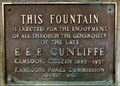 Image for E.E.P. Cunliffe Fountain - Kamloops, BC