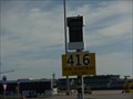 Image for 38 46.1N 009 08.2W - Stand 416 at LIS airport, Lisbon, Portugal