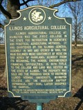 Image for Illinois Agricultural College