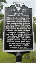 Image for 26-25: LEVISTER/ELEMENTARY SCHOOL - Aynor, SC