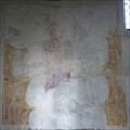 Image for Medieval Murals - St Vincent's Church, Caldecote Rd, Newnham, Herts, UK.