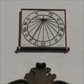 Image for San Francisco Church Sundial, Santa Cruz de La Palma, Carary Islands, Spain