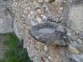 Image for Bénitier en pierre, chapelle St Roch - Les Mées - Alpes de Haute Provence, Fr