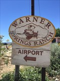 Image for Warner Springs Ranch Airport - Warner Springs, CA