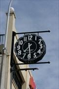 Image for Arthur Barnett Neon Clock  -  Dunedin, New Zealand