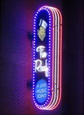 Image for Tin Roof Nightclub - Artistic Neon - Memphis, Tennessee, USA.