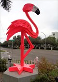 Image for Giant Flamingo - Museum of Whimsy - Sarasota, Florida, USA.