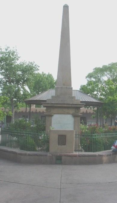 Santa Fe Monument New Mexico Historical Markers On Waymarking Com