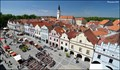 Image for Trebon from the Old Town Hall Tower / Trebon z veže staré radnice (South Bohemia)